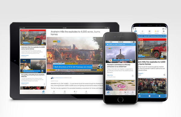 ABC7 Los Angeles Apps for Tablet, iPad, iPhone & Android